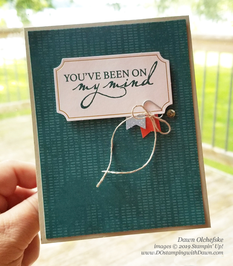 Paper Pumpkin - On My Mind kit (July 2019) alternate cards by Dawn Olchefske #dostamping #howdshedothat #stampinup #Paper Pumpkin #cardmaking #stamping #papercrafting #cardkits