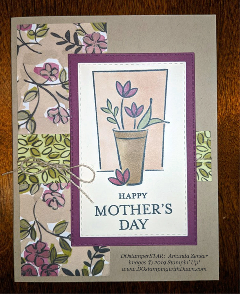 Just Because - DOstamperSTARS Spring & Easter cards shared by Dawn Olchefske #dostamping #dostamperSTARSt #stampinup #handmade #cardmaking #stamping #papercrafting #eastercards - Amanda Zenker