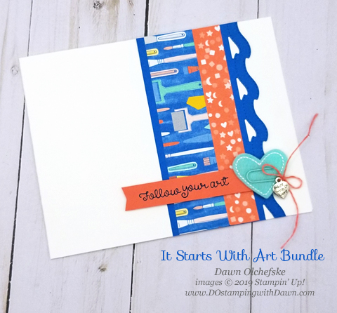 It Starts with Art Bundle from Stampin' Up!, card by Dawn Olchefske #dostamping #howdshedothat #stampinup #handmade #cardmaking #stamping #papercrafting