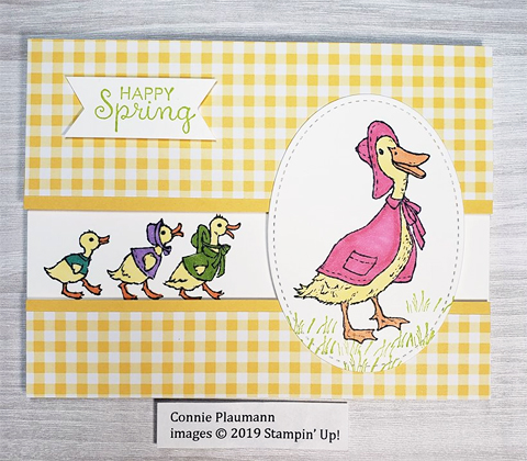 Stampin' Up! Fable Friends creations by DOstamperSTAR, Connie Plaumann.    #dostamping #howdshedothat #stampinup #dostamperstars #handmade #cardmaking #stamping #papercrafting #eastercards