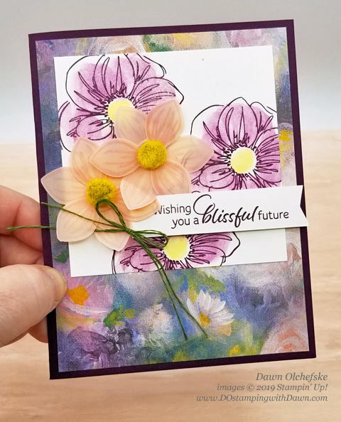 Perennial Essence Suite Make & Take from OnStage, shared by Dawn Olchefske #dostamping #stampinup #cardmaking #stamping #papercrafting  #ONSTAGE2019 #minneapolisonstage2019