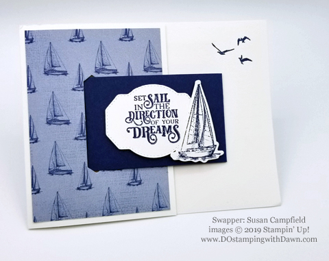 Stampin' Up! Sailing Home Bundle cards shared by Dawn Olchefske #dostamping  #stampinup #handmade #cardmaking #stamping #papercrafting #masculinecards (Susan Campfield)