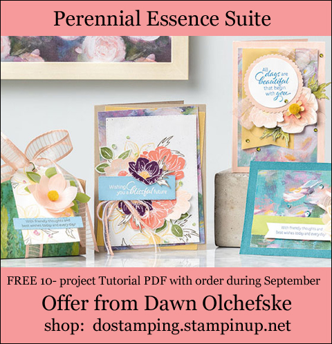 DOstamping September 2019 order BONUS - FREE Perennial Essence Suite 10-Project Tutorial PDF, shop with Dawn Olchefske, https://bit.ly/shopwithdawn | #dostamping #perennialessence #cardmaking