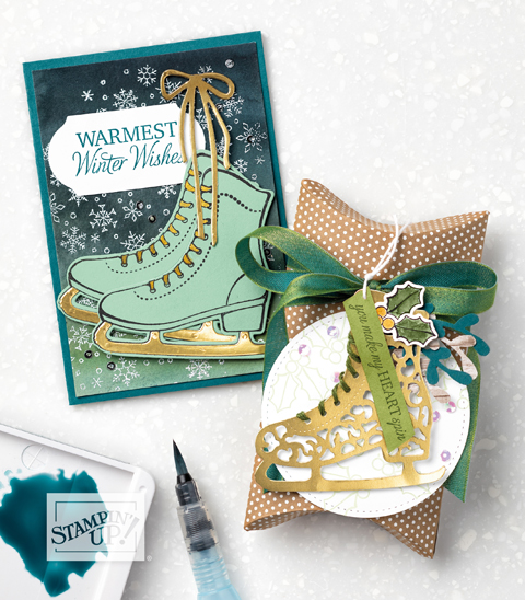 Free Skate Bundle - Dawn Olchefske Holiday Favorites! #dostamping #stampinup #handmade #cardmaking #stamping #papercrafting  #2019SUholiday