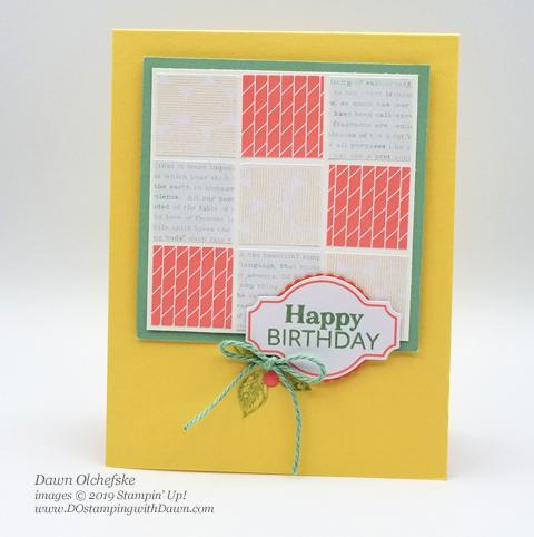 Sentimental Rose April 2019 Paper Pumpkin Kit alternate ideas by Dawn Olchefske #stampinup #paperpumpkin #cardmaking #cardkit #rubberstamping #diy #sentimentalrose