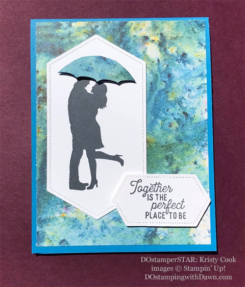 Stampin' Up! Designer Series Paper Sale featuring See a Silhouette Designer Series Paper shared by Dawn Olchefske #dostamping #stampinup #papercrafting (Kristy Cook)