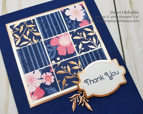 Everything is Rosy Product Medley kit ideas (available May 2019 only) shared by Dawn Olchefske #dostamping #howdshedothat #stampinup #cardmaking #papercrafting #everythingisrosy
