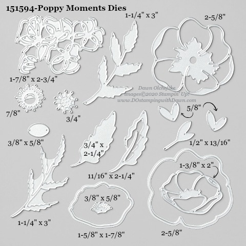 Stampin' Up! Poppy Moments #DOstamping #stampinup #poppymoments #bigshot #cardmaking #HowdSheDOthat #papercrafting