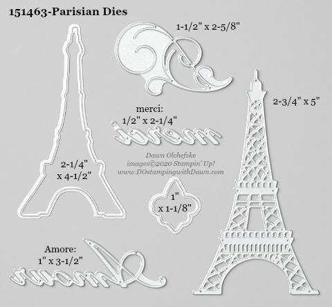 Stampin' Up! Parisian Die #DOstamping #stampinup #parisian #bigshot #cardmaking #HowdSheDOthat #papercrafting