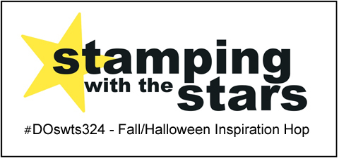 #DOswts324 | Stamping with the STARS Fall Halloween inspiration hop #DOstamperSTARS #dostamperSTARS #halloweencards