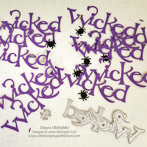 Stampin' Up! Wonderfully Wicked Bundle card from Dawn Olchefske for Stamping with the STARS Inspiration #DOswts324 #dostamping #howdshedothat #stampinup #handmade #cardmaking #stamping #papercrafting #halloweencards #WCMD #dostamperstars