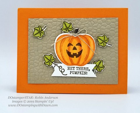 15 Halloween/Fall inspired projects created by DOstamperSTARS shared by Dawn Olchefske #dostamping #howdshedothat #stampinup #handmade #cardmaking #stamping #papercrafting (Robin Anderson)