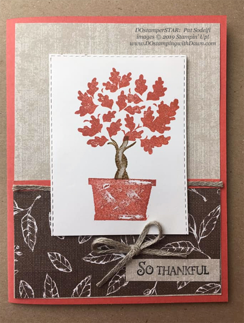 15 Halloween/Fall inspired projects created by DOstamperSTARS shared by Dawn Olchefske #dostamping #howdshedothat #stampinup #handmade #cardmaking #stamping #papercrafting (Pat Sodeifi)