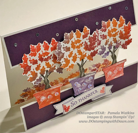 15 Halloween/Fall inspired projects created by DOstamperSTARS shared by Dawn Olchefske #dostamping #howdshedothat #stampinup #handmade #cardmaking #stamping #papercrafting(Pamela Watkins)