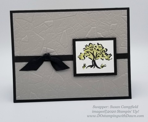 Stampin' Up! Power of Hope swaps shared by Dawn Olchefske #dostamping #howdshedothat #stampinup #handmade #cardmaking #stamping #papercrafting #powerofhope (Susan Campfield)