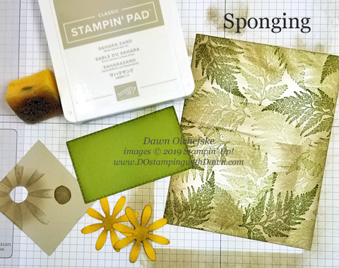 Learn 3 types of sponging from Dawn Olchefske #dostamping #papercrafting #stampingtechniques