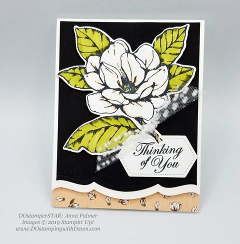 6 stunning Morning Magnolia samples - Magnolia Lane Suite from Stampin' Up! shared by Dawn Olchefske  #dostamping #stampinup #handmade #cardmaking #stamping #papercrafting#morningmagnolia #DOstamperSTARS (AnnaPalmer)