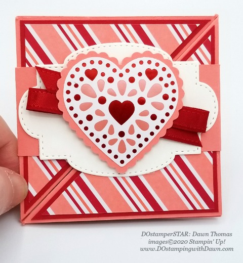 Stampin' Up! From My Heart Bundle swap shared by Dawn Olchefske #dostamping #howdshedothat #stampinup #handmade #cardmaking #stamping #papercrafting (Dawn Thomas)