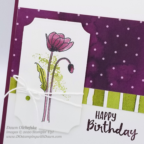 #DOswts332 Peaceful Poppies Inspiration Hop #stampinup #handmade #dostamperSTARS #cardmaking