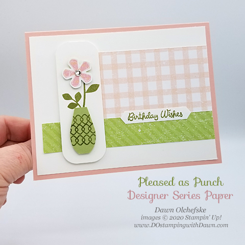 Your Creative Connection: Pleased as Punch  from Stampin' Up! created by Dawn Olchefske #dostamping #howdshedothat #stampinup #handmade #cardmaking #stamping #papercrafting #ycc101