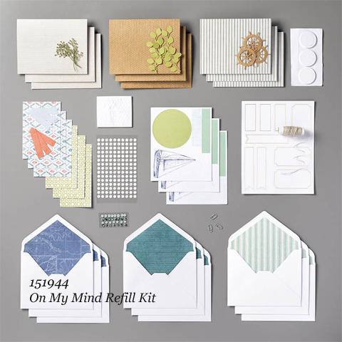 Paper Pumpkin, July 2019 On My Mind Blop Hop | Dawn Olchefske dostamping #stampinup #handmade #cardmaking #stamping #diy #papercrafting #paperpumpkin #cardkits