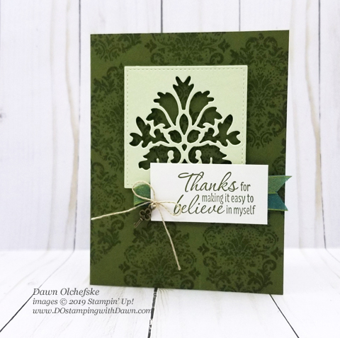Stampin' Up! Tasteful Textures Bundle card shared by Dawn Olchefske #dostamping #howdshedothat #stampinup #handmade #cardmaking #stamping #papercrafting