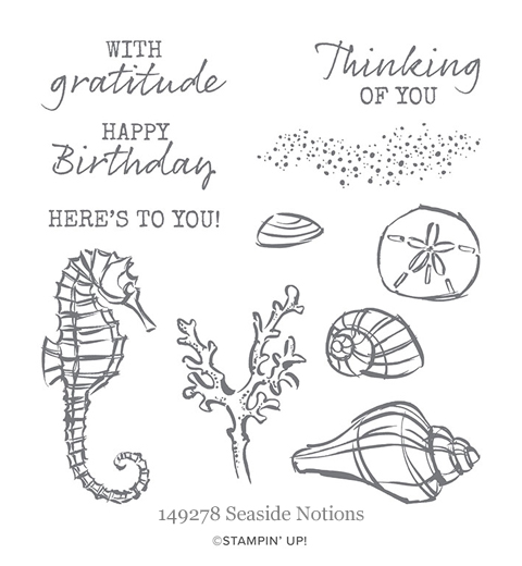149278 Seaside Notions stamp set from Stampin' Up!