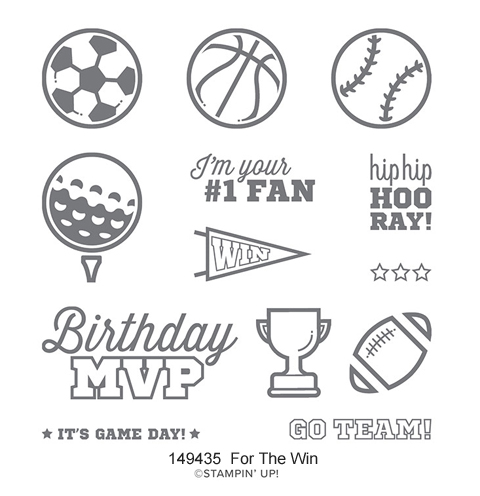 149435-For the Win stamp set from Stampin' Up! #dostamping #stampinup