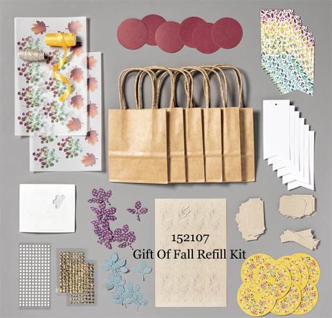 Paper Pumpkin Gift of Fall Refill Kit | Dawn Olchefske dostamping #stampinup #handmade #cardmaking #stamping #diy #papercrafting #paperpumpkin #cardkits