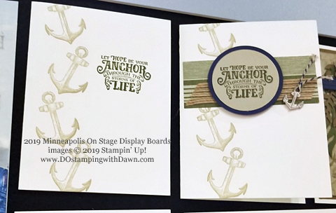 Stampin' Up! Sailing Home Bundle cards shared by Dawn Olchefske #dostamping  #stampinup #handmade #cardmaking #stamping #papercrafting #masculinecards - On Stage Samples
