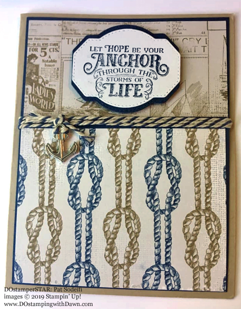 Stampin' Up! Sailing Home Bundle cards shared by Dawn Olchefske #dostamping  #stampinup #handmade #cardmaking #stamping #papercrafting #masculinecards #DOstamperSTARS (Pat Sodeifi)