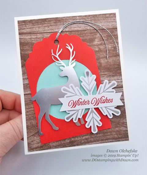 Paper Pumpkin November Winter Gifts Blop Hop | Dawn Olchefske dostamping #stampinup #handmade #cardmaking #stamping #diy #papercrafting #paperpumpkin #christmascards