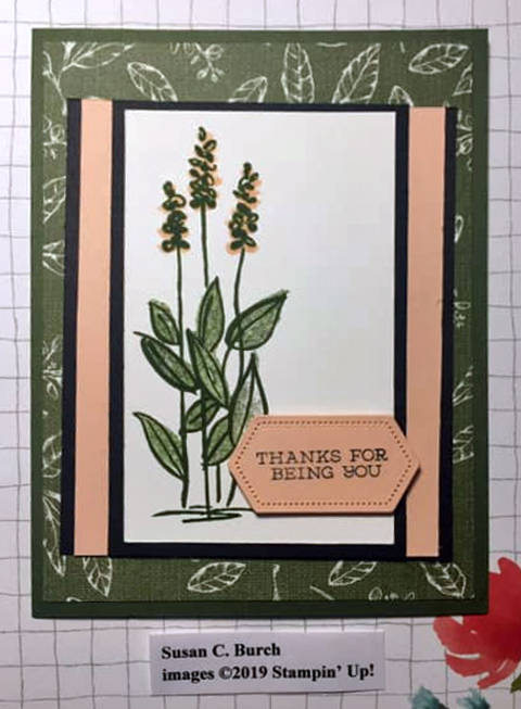 Stampin' Up! Designer Series Paper Sale featuring Magnolia Lane Designer Series Paper shared by Dawn Olchefske #dostamping #stampinup #papercrafting (Susan Burch)
