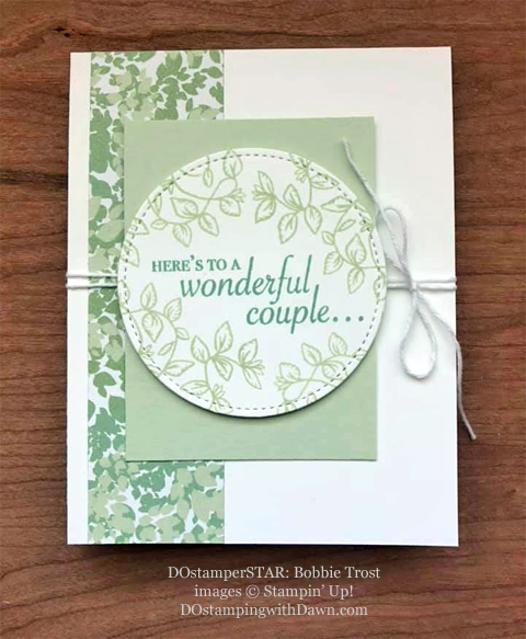 Stampin' Up! Designer Series Paper Sale featuring Garden Lane Designer Series Paper shared by Dawn Olchefske #dostamping #stampinup #papercrafting (Bobbie Trost)