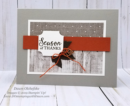 Holiday Catalog Come to Gather sketch card by Dawn Olchefske for Stamping with the STARS #DOswts322 #dostamping #howdshedothat #stampinup #handmade #cardmaking #stamping #papercrafting  #dostamperSTARS