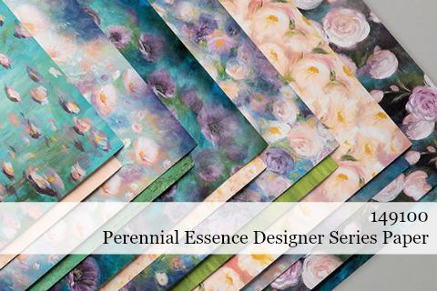 Stampin' Up! Perennial Essence Designer Series Paper (149100) #dostamping #stampinup #papercrafting #cardmaking #perennialessence