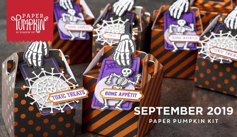 Paper Pumpkin Bone Appetit | Dawn Olchefske dostamping #stampinup #handmade #cardmaking #stamping #diy #papercrafting #paperpumpkin