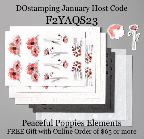 DOstamping January 2020 VIP Host Code F2YAQS23, shop with Dawn Olchefske at https://bit.ly/shopwithdawn #dostamping #shopSU #hostcode