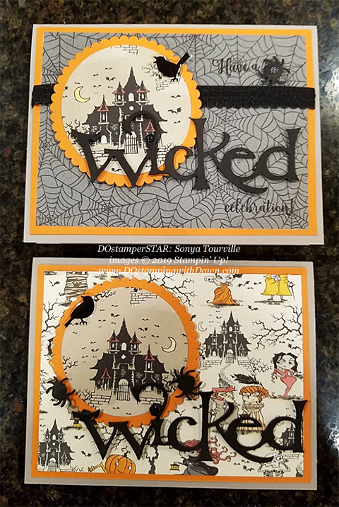 15 Halloween/Fall inspired projects created by DOstamperSTARS shared by Dawn Olchefske #dostamping #howdshedothat #stampinup #handmade #cardmaking #stamping #papercrafting (Sonya Tourville)