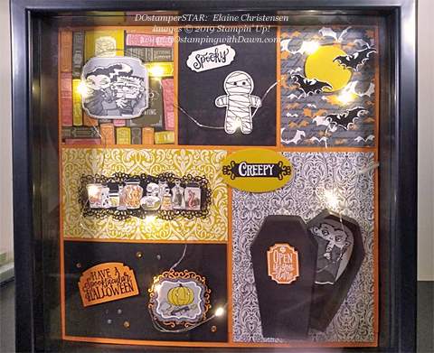 15 Halloween/Fall inspired projects created by DOstamperSTARS shared by Dawn Olchefske #dostamping #howdshedothat #stampinup #handmade #cardmaking #stamping #papercrafting (Elaine Christensen)