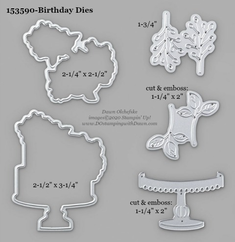 Stampin' Up! Birthday Dies #DOstamping #stampinup #birthdaydies #bigshot #cardmaking #HowdSheDOthat #papercrafting
