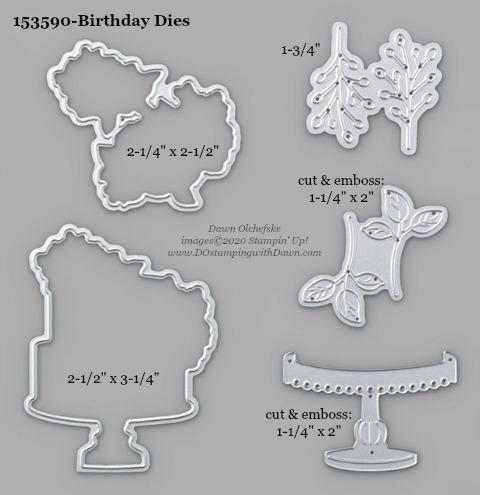 Stampin' Up! Birthday Dies #DOstamping #stampinup #birthdaydies #bigshot #cardmaking #HowdSheDOthat #papercrafting