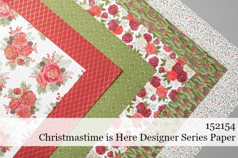 Stampin' Up! Christmastime is Here Specialty Designer Series Paper shared by Dawn Olchefske #dostamping #stampinup #handmade #cardmaking #stamping #papercrafting