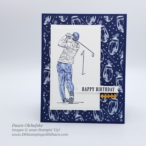 Stampin' Up! Clubhouse Bundle card by Dawn Olchefske #dostamping #howdshedothat #stampinup #handmade #cardmaking #stamping #papercrafting#masculinecard