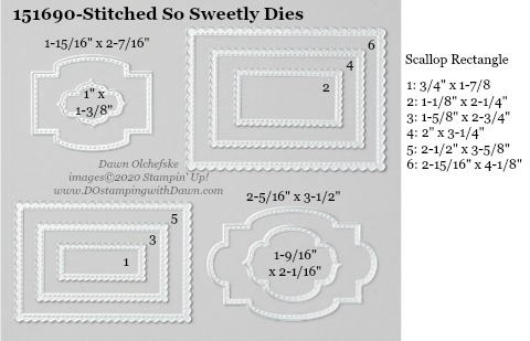 Stampin' Up! Stitched So Sweetly Dies #DOstamping #stampinup #stitchedsosweetly #bigshot #cardmaking #HowdSheDOthat #papercrafting