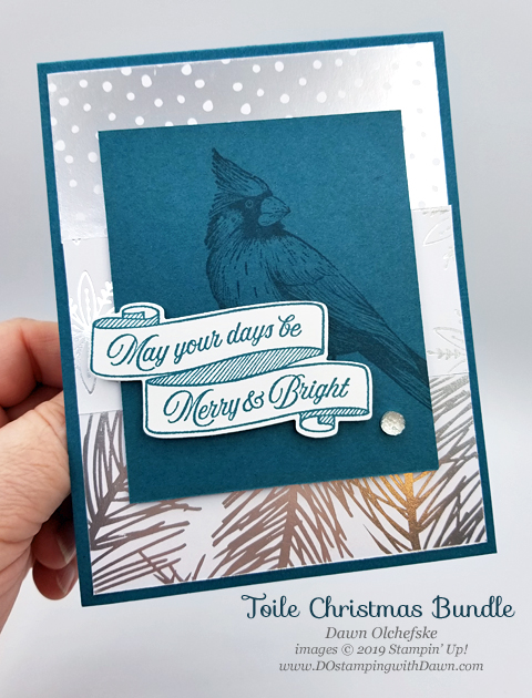 Sketch cards using Stampin' Up! Toile Christmas & Feels Like Frost Designer Series Paper from Dawn Olchefske for Stamping with the STARS Inspiration Hop #DOswts326 #dostamping #howdshedothat #stampinup #handmade #cardmaking #stamping #papercrafting  #dostamperstars#christmascards