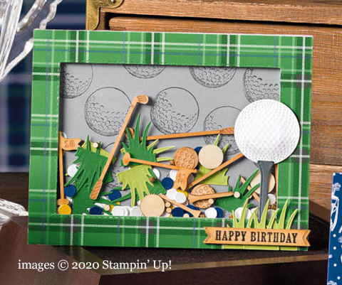 Stampin' Up! Country Club Suite sample shared by Dawn Olchefske #dostamping #stampinup #handmade #cardmaking #stamping #papercrafting  #masculine