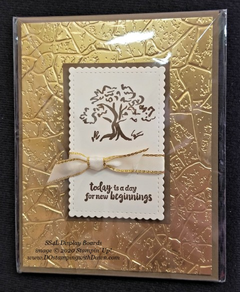 Stampin' Up! Power of Hope Bundle shared by Dawn Olchefske #dostamping #howdshedothat #stampinup #handmade #cardmaking #stamping #papercrafting (SS4L Display Board)