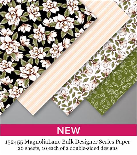 152455 Magnolia Lane Bulk Designer Series Paper, #dostamping #stampinup #papercrafting #cardmaking