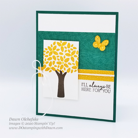 Paper Pumpkin My Wonderful Family sketch card by Dawn Olchefske #dostamping #howdshedothat #stampinup #handmade #cardmaking #stamping #papercrafting #paperpumpkin #mywonderfulfamily #DOswts337 #sketch